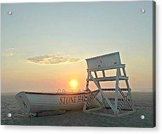 Stone Harbor Sunrise Acrylic Print