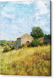 Provence Countryside Acrylic Print
