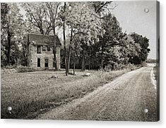 Stone House Road Acrylic Print