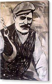 Stone Man Acrylic Print