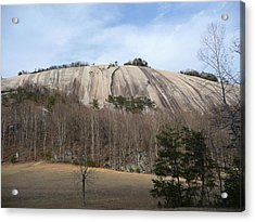 Acrylic Print featuring the photograph Stone Mountain Early Spring by Joel Deutsch