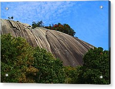 Stone Mountain Acrylic Print by Kathryn Meyer
