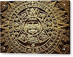 Stone Of The Sun Acrylic Print