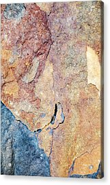 Acrylic Print featuring the photograph Stone Pattern by Christina Rollo