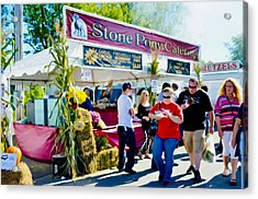 Stone Pony Catering Acrylic Print by Lanjee Chee