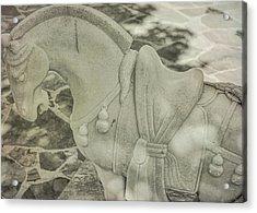 Stone Power Acrylic Print by Dressage Design