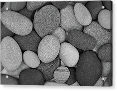 Stone Soup Black And White Acrylic Print