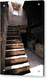 Stone Stairs At Santa Catalina Monastery Acrylic Print