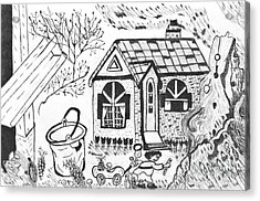 Stonegate Cottage Acrylic Print