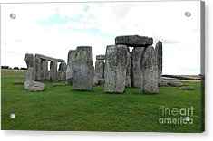 Acrylic Print featuring the photograph Stonehenge 1 by Francesca Mackenney