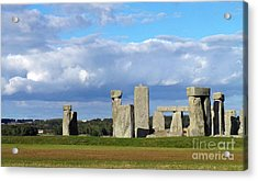 Acrylic Print featuring the photograph Stonehenge 4 by Francesca Mackenney