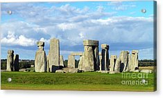 Acrylic Print featuring the photograph Stonehenge 6 by Francesca Mackenney