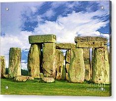 Stonehenge Acrylic Print by Judi Bagwell