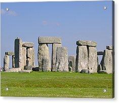 Stonehenge Morning Acrylic Print