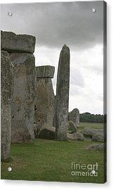 Stonehenge Side Pillars Acrylic Print