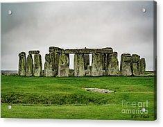 Stonehenge Acrylic Print