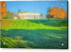 Stonehill College In October Acrylic Print