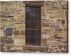 Acrylic Print featuring the photograph Stonehouse At Bullrun Virginia by Heidi Poulin