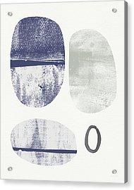 Stones 1- Art By Linda Woods Acrylic Print