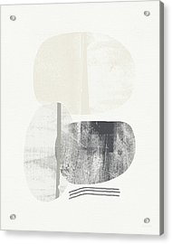 Stones 2- Art By Linda Woods Acrylic Print by Linda Woods