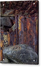 Rusted Stones 2 Acrylic Print by Steve Siri