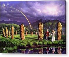 Stones Of Years Acrylic Print
