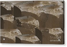 Stones Used For Carving Statues N Build Walls Of Churches And Temples  Textures Shades Download Jpg  Acrylic Print
