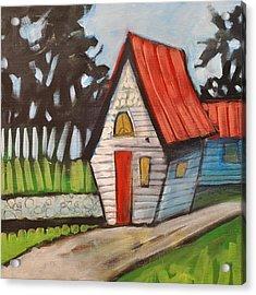 Stonewall Cottage Acrylic Print by Tim Nyberg