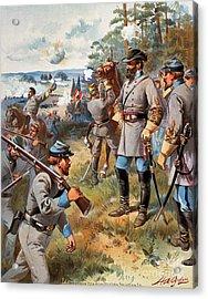 Stonewall Jackson, 1861 Acrylic Print by Granger