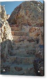 Acrylic Print featuring the photograph Stoneway by Lori Mellen-Pagliaro