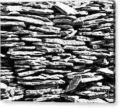 Stonework Acrylic Print
