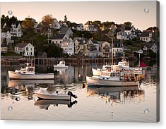 Stonington Harbor Acrylic Print