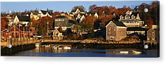 Stonington Me Acrylic Print by Panoramic Images