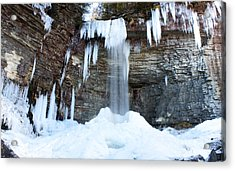 Stony Kill Falls In February #1 Acrylic Print