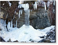 Stony Kill Falls In February #2 Acrylic Print