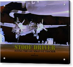 Stoofdriver Cover Acrylic Print