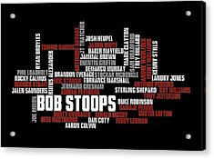 Stoops Greatest Sooners Acrylic Print