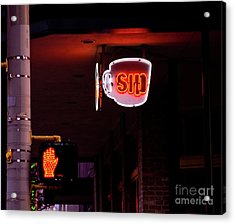 Stop And Sip Acrylic Print