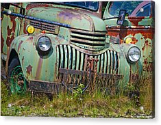 Stopped For Good Acrylic Print