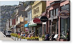 Stores And Restaurants On Bridgeway Sausalito California 5d2890long Acrylic Print