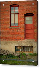 Stores Building Acrylic Print