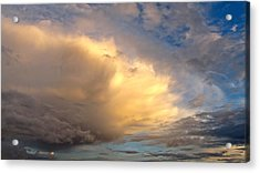 Acrylic Print featuring the photograph Storm Approach by Sean Griffin