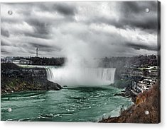 Storm At Niagara Acrylic Print