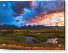Storm At Prairie Creek Acrylic Print