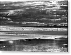 Acrylic Print featuring the photograph Storm Beach by Adrian Pym