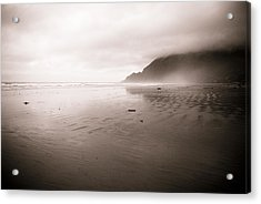 Acrylic Print featuring the photograph Storm Beach by Craig Perry-Ollila