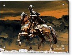 Storm Bringer Acrylic Print by David Lee Thompson