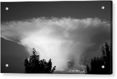 Storm Cloud Acrylic Print by Juergen Weiss