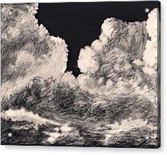 Storm Clouds 1 Acrylic Print by Elizabeth Lane