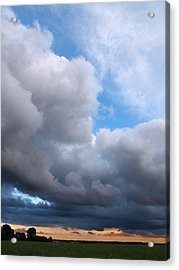 Storm Clouds Falling Vertical Acrylic Print